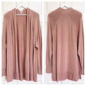 Leith blush cardigan, size XXL